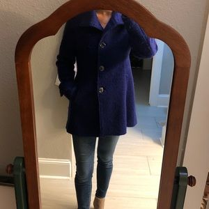 Kenneth Cole Wool Blend Peacoat - size 2